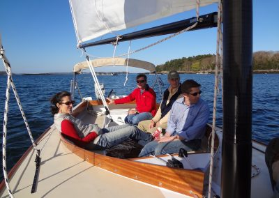comfortable small sailing
