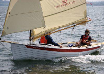 NorseBoat 17.5 sailing and rowing boat
