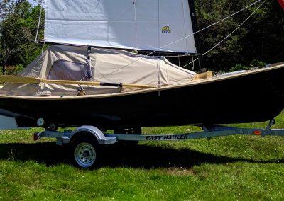 camp-cruising sailboat