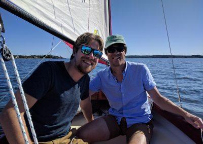NorseBoat sailing