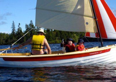 sailing with grandchildren