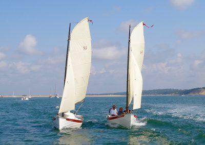 Small sailing and rowing boats