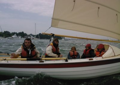 NorseBoat sailing with children
